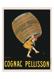 Cognac Pellisson Prints by Leonetto Cappiello