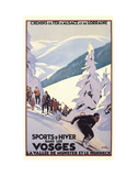 Sports d'Hiver Poster by Roger Broders