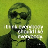 Todos (Everybody) Psters por Andy Warhol