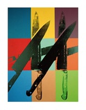 Knives, c.1981-82 (multi squares) Prints by Andy Warhol