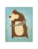 The Happy Bear Posters by John Golden