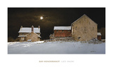 Late Snow Posters by Ray Hendershot
