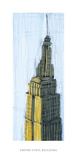 Empire State Building Art by Mark Gleberzon