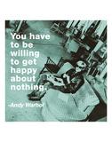 Bli glad|Get Happy Konst av Billy Name