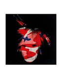 Self-Portrait, c.1986 (red, white and blue camo) Poster tekijänä Andy Warhol