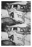 Ambulance Disaster, c.1964 Posters av Andy Warhol