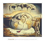 Geopoliticus Child Watching the Birth of the New Man, c.1943 Affiche par Salvador Dalí