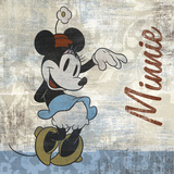 Vintage Minnie Affiches