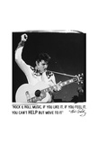 Elvis: Rock &amp; Roll Music Poster