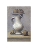Still Life with Pitcher and Apple Poster by Pablo Picasso