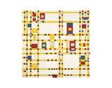Broadway Boogie Woogie Affiches par Piet Mondrian
