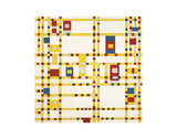 Broadway Boogie Woogie Posters by Piet Mondrian
