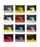 Twelve Electric Chairs, c.1964/65 Plakater af Andy Warhol