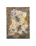 Honeycomb Bees Giclee Print by Annabel Hewitt