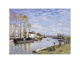 The Loing at Saint-Mammes Posters by Alfred Sisley