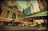 Chrysler Over Grand Central Posters by Eric Wood