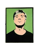 Self-Portrait, c.1964 (on green) Art by Andy Warhol