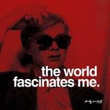 De wereld Poster van Andy Warhol