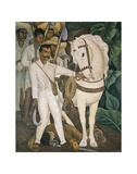 Agrarian Leader Zapata Prints by Diego Rivera