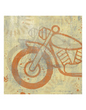 Motorcycle I Posters by Erin Clark