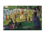 Sunday Afternoon on the Island of Grand Jatte, c.1864-6 Pôsters por Georges Seurat