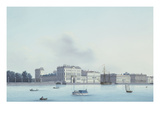 A View of St. Petersburg; the Neva River Premium Giclee Print by  Leperate
