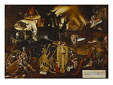Hell Giclee Print by Hieronymous Bosch (Follower of)