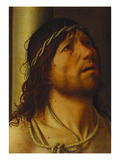 Christ at the Column Reproduction procédé giclée par Antonello da Messina