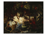 In the Fairy Bower Reproduction procédé giclée par John Anster Fitzgerald