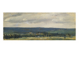 An Extensive Landscape Prints by Théodore Rousseau