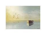 Soft Sunrise on the Beach, no. 11 Impression giclée par Carlos Casamayor