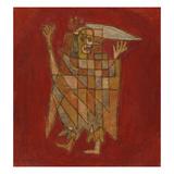 Allegorical Figure; Allegorische Figurine (Verblassung) Giclee Print by Paul Klee