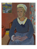 Louise or the Breton Servant; Louise Ou La Servante Bretonne Poster av Paul Serusier