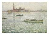 San Giorgio Maggiore, Venice Giclee Print by Henri Le Sidaner