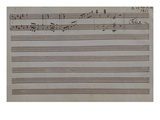 Sonatina for Pianoforte in E Major Giclee Print by F&#233;lix Mendelssohn-Bartholdy