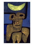 Moon of the Barbarians; Luna Der Barbaren Poster by Paul Klee