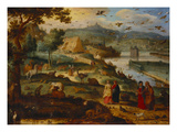 Noah's Ark Prints by Lazarus van der Borcht (Attr to)