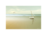 Soft Sunrise on the Beach, no. 1 Giclee Print by Carlos Casamayor