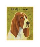 Basset Hound Giclee Print by John Golden
