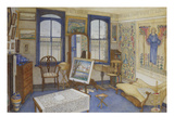 Le studio de l&#39;artiste Reproduction proc&#233;d&#233; gicl&#233;e par Wilhelmina Palmer