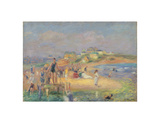 Good Harbor Beach, c.1919 Prints by William Glackens