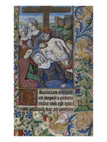 The Crucifixion. Book of Hours, Use of Rome, in Latin Giclee Print by Jean Bourdichon (Workshop of)
