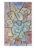 The Lemon Tree; Der Sauerbaum Reproduction giclée Premium par Paul Klee