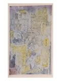 Gothic Rococo; Gotisches Rococo Giclee Print by Paul Klee