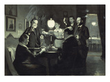 The Celebration Giclee Print by Peter Ilsted