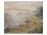 By the River; a Bord De La Riviere Giclee Print by Anna Boch