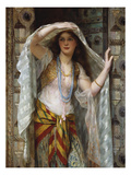 Safie Poster by William Clarke Wontner