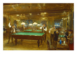 Billiards; Le Billard Prints by Jean Béraud