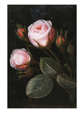 Roses Prints by Johan Laurentz Jensen (Attr to)