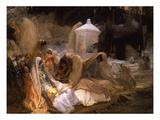 Day of the Prophet at Oued-El-Kebir Giclée-tryk af Frederick Arthur Bridgman